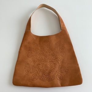 Gap Leather Tan Shoulder Bag